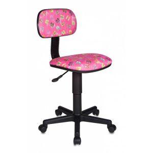 Кресло компьютерное Бюрократ CH-201NX розовый бюрократ кресло компьютерное бюрократ ch 875c mocca мокко
