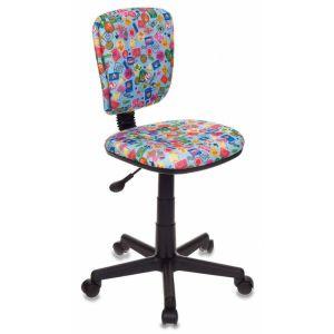 Кресло компьютерное Бюрократ CH-204NX голубой бюрократ кресло компьютерное бюрократ ch 875c mocca мокко