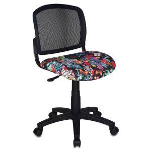 Кресло компьютерное Бюрократ CH-296NX TATTOO бюрократ кресло компьютерное бюрократ ch 875c mocca мокко