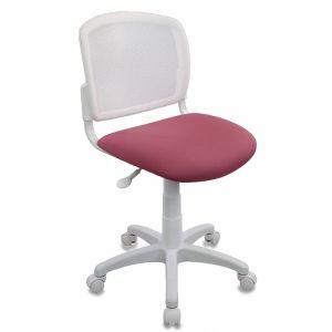 Кресло компьютерное Бюрократ CH-W296NX белый/розовый бюрократ кресло компьютерное бюрократ ch 875c mocca мокко