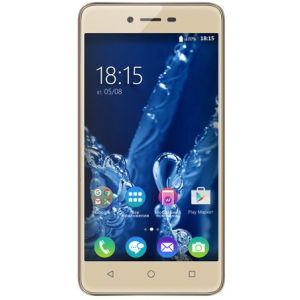 Смартфон BQ BQ-5058 Strike Power Easy золотой смартфон bq bq 5510 strike power max 4g золотистый mediatek mt6737 1гб 8 гб 5 5 1280x720 13mpix dualsim 3g 4g bt android 7 0