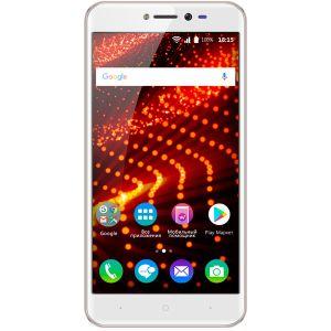 Смартфон BQ BQ-5204 Strike Selfie розовое золото смартфон bqs 5050 strike selfie grey mediatek mt6580 1 3 8 gb 1 gb 5 1280x720 dualsim 3g bt android 6 0