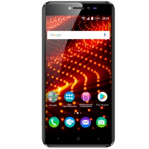 Смартфон BQ BQ-5204 Strike Selfie чёрный смартфон bqs 5050 strike selfie grey mediatek mt6580 1 3 8 gb 1 gb 5 1280x720 dualsim 3g bt android 6 0
