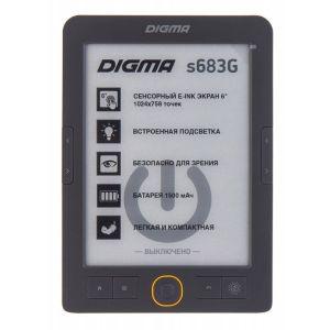 Электронная книга Digma s683G серый электронная книга digma e63s темно серый e63sdg