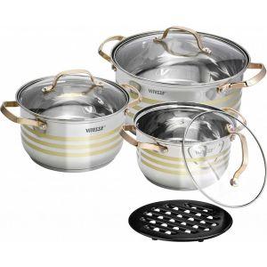 Набор посуды Vitesse VS-2081 набор кухонной посуды vitesse betty