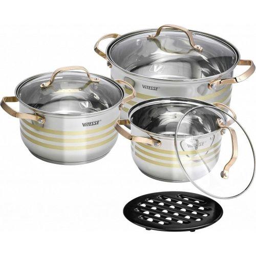 Фото #1: Набор посуды Vitesse