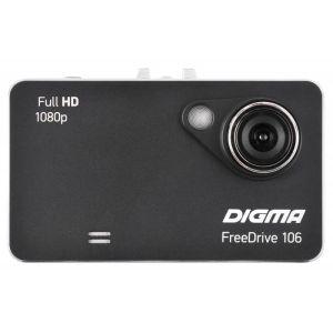 Автомобильный видеорегистратор Digma FreeDrive 106 чёрный автомобильный видеорегистратор digma freedrive 107