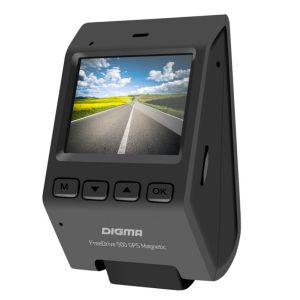 Автомобильный видеорегистратор Digma FreeDrive 500 GPS Magnetic чёрный