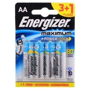 Батарейка Energizer MAX LR6/E91 AA FSB4 батарейки samsung pleomax lr6 aa 10 шт