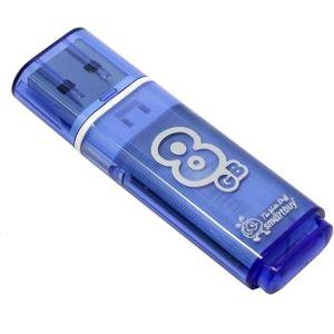Флешка Smartbuy Glossy series 8GB (SB8GBGS-B) голубой