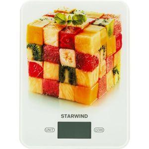Весы кухонные Starwind SSK3359 весы starwind ssp5452 черный ssp5452