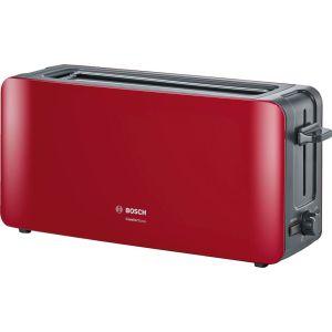 все цены на Тостер Bosch TAT 6A004 красный онлайн