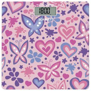 Весы напольные Scarlett SC-BS33E092 розовый весы напольные scarlett sc bs33e073