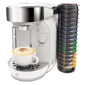 Кофемашина капсульная Bosch TAS 7004 белый/серебристый bosch tas 3203