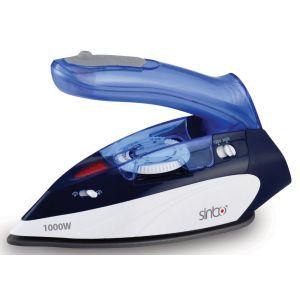 где купить Утюг Sinbo SSI-6623 синий/белый дешево