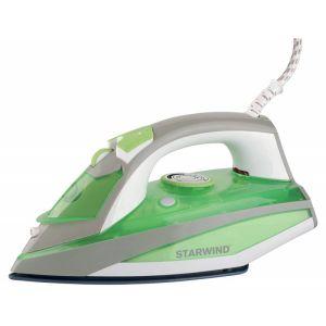 Утюг Starwind SIR8925 зеленый/серый утюг starwind sir5830 2200вт серый белый