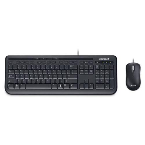 Комплект клавиатура и мышь Microsoft