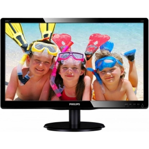Монитор Philips 200V4LAB2 чёрный монитор philips 231b4qpycb чёрный