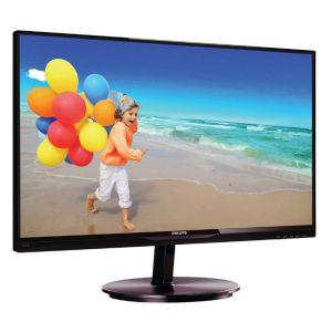 Монитор Philips 224E5QHSB чёрный монитор philips 21 5 224e5qhsb 00 01 black cherry 224e5qhsb 00 01