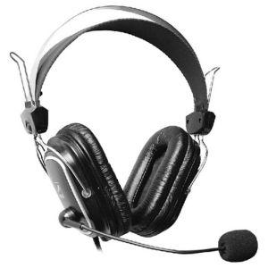 Компьютерная гарнитура A4tech HS-50 чёрный гарнитура для пк проводная a4tech hs 7p