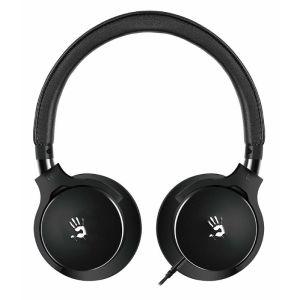 все цены на Компьютерная гарнитура A4tech Bloody M510 чёрный онлайн