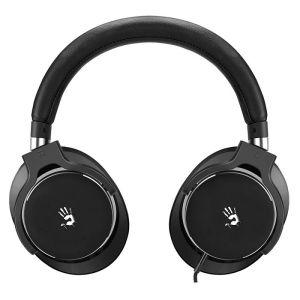 все цены на Компьютерная гарнитура A4tech Bloody M550 чёрный/серебристый онлайн