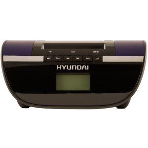 Магнитола Hyundai H-PAS220 чёрный hyundai h pas220 черный с синим