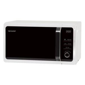 Микроволновая печь Sharp R-2852RW белый/чёрный