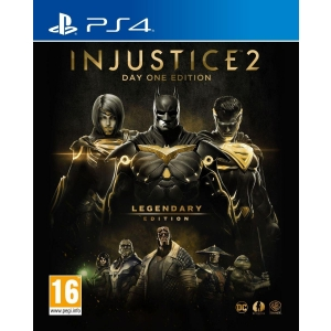 Игра для Sony PS4 Injustice 2 Legendary Edition ps4 hitman полный первый сезон steelbook edition