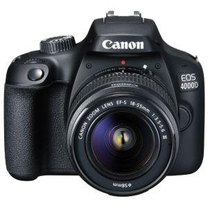Зеркальный фотоаппарат Canon EOS 4000D Kit чёрный
