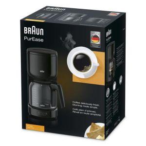 Кофеварка капельного типа Braun KF 3120 черный кофеварка капельного типа kitchenaid artisan 5kcm0812eob черный