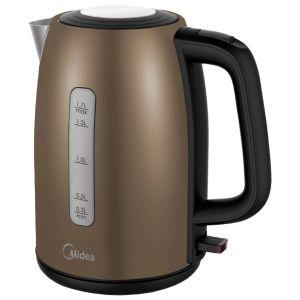 Электрический чайник Midea MK-8058 бронзовый электрический чайник maxima mk m421 black