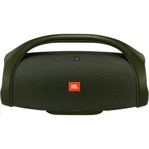 Портативная колонка JBL Boombox зелёный protective case for jbl boombox portable wireless bluetooth speaker storage pouch bag for jbl boombox travel carrying eva case