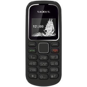 Мобильный телефон Texet TM-121 чёрный