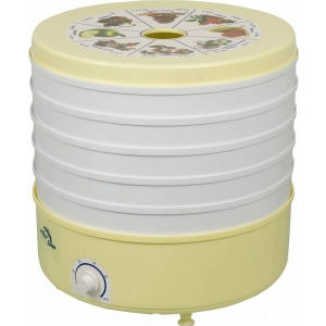 Сушилка для овощей и фруктов Ротор Дива СШ-007 (5 поддонов) белый