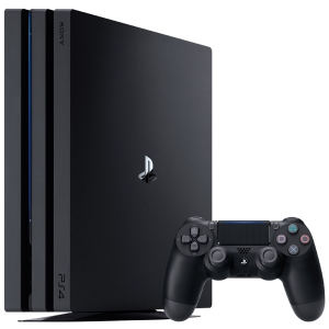 Игровая консоль Sony PlayStation 4 Pro чёрный игровая приставка sony playstation 4 1tb fifa 18 2 геймпада ps plus 14 дней