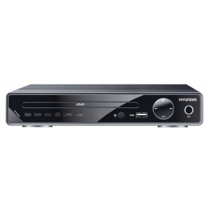 DVD-плеер Hyundai H-DVD200 чёрный плеер hyundai h dvd100 black