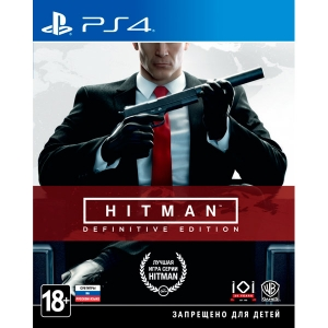 Игра для Sony PS4 HITMAN: Definitive Edition ps4 hitman полный первый сезон steelbook edition