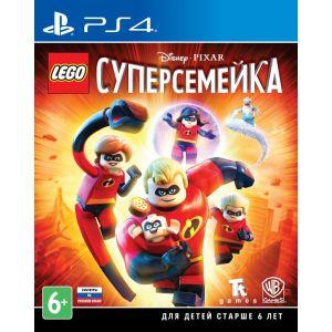 Игра для Sony PS4 LEGO Суперсемейка sleeping dogs definitive edition игра для ps4
