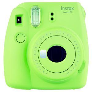 Фотокамера моментальной печати Fujifilm INSTAX MINI 9 LIM GREEN TH EX D жёлтый