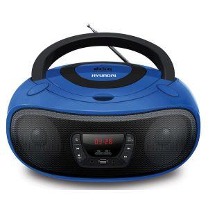 Магнитола Hyundai H-PCD240 синий hyundai h 200 box powersteering 2006 118580km 571004a850 57100 4a850