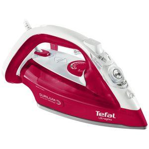 Утюг Tefal FV4950 белый/красный утюг tefal turbo pro fv5630e0