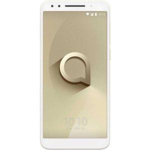 Смартфон Alcatel 3 5052D золотистый смартфон alcatel idol 5 4g ds metal blackb 6058d