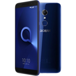 Смартфон Alcatel 3 5052D синий смартфон alcatel idol 5 4g ds metal blackb 6058d