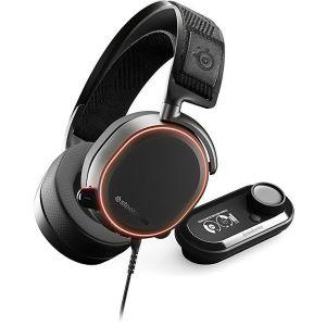 Компьютерная гарнитура Steelseries Arctis Pro GameDAC чёрный наушники с микрофоном steelseries arctis pro gamedac мониторы черный [61453]