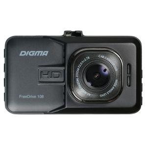 Автомобильный видеорегистратор Digma FreeDrive 108 чёрный