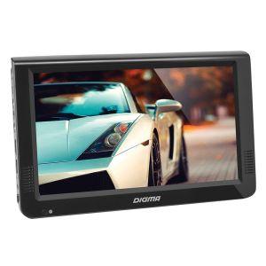 Автомобильный телевизор Digma DCL-1020 чёрный телевизор digma dm led32r201bt2