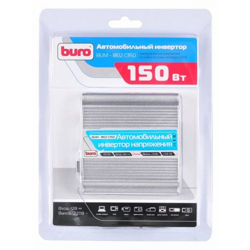 Преобразователь напряжения (инвертор) Buro