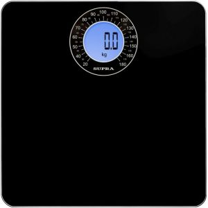 Весы напольные Supra BSS-9000 чёрный весы напольные supra bss 4060 flower