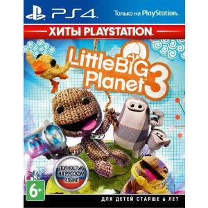 все цены на Игра для Sony LittleBigPlanet 3 (Хиты PlayStation) [PS4, русская онлайн